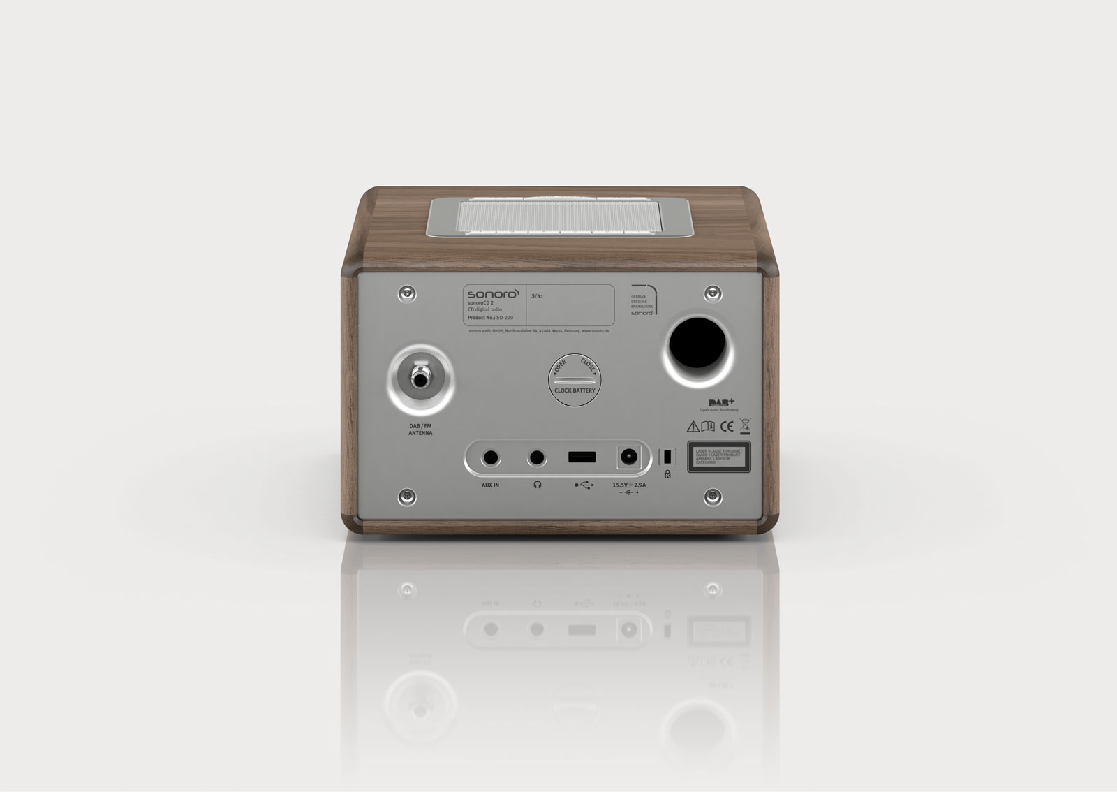 Flot CD 2 – 360° sound and timeless design - sonoro NV-48