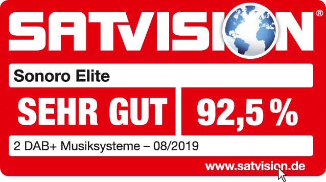 satvision sehr gut sonoro elite