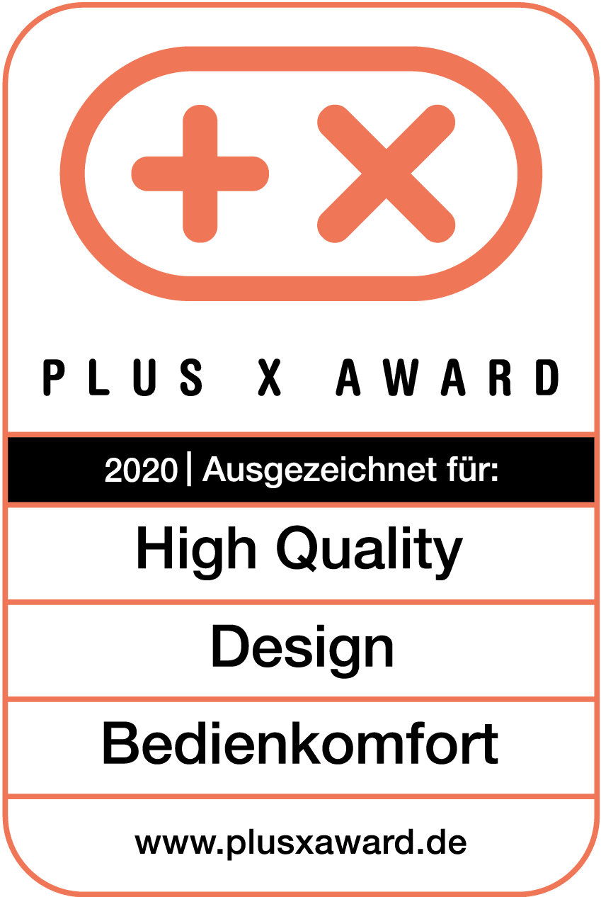 Plus X Award 2020 sonoro Elite